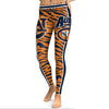 Image of Auburn Tigers College Team Football Sports Leggings