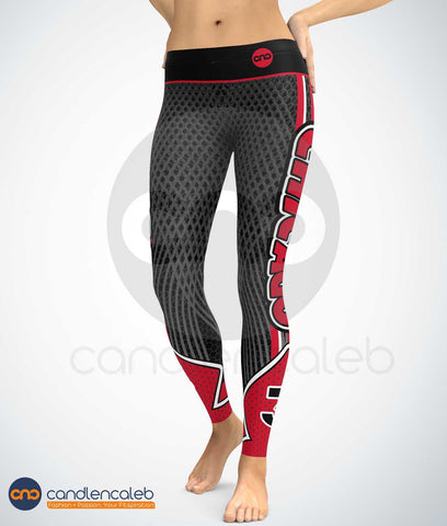Chicago Basketball Leggings