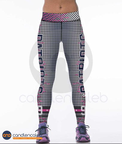 LIMITED EDITION Shady PINK New England Sports Leggings