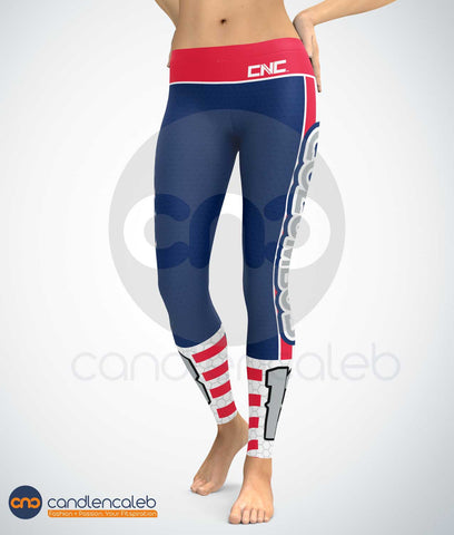 Columbus Hockey Leggings