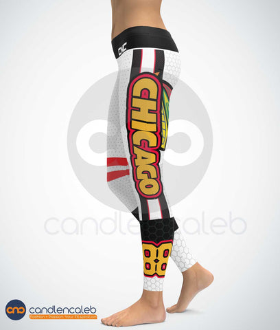 Chicago NHL Leggings