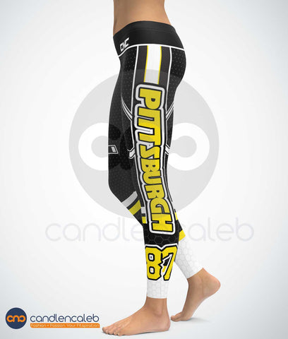 Pittsburgh NHL Leggings