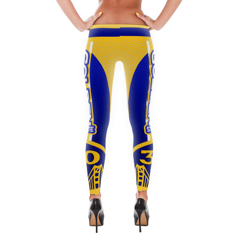 GSW Curry Basketball Leggings