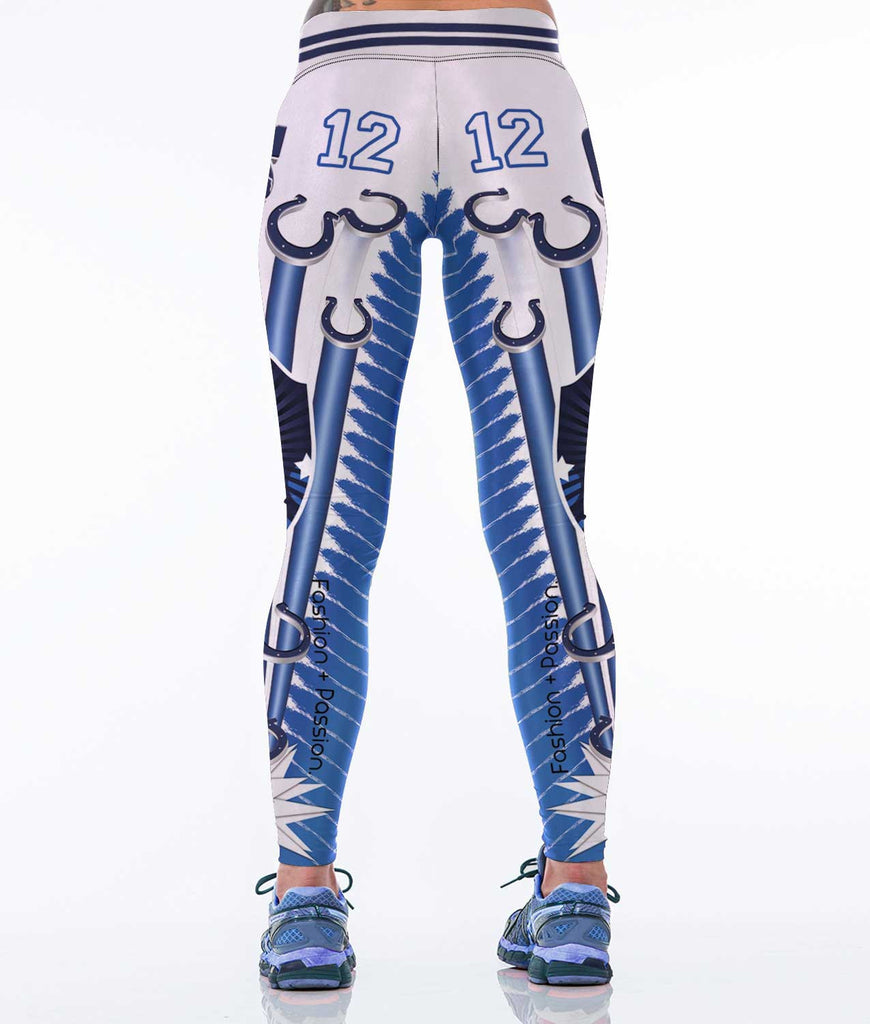 Indianapolis  Football Sports Leggings for Women