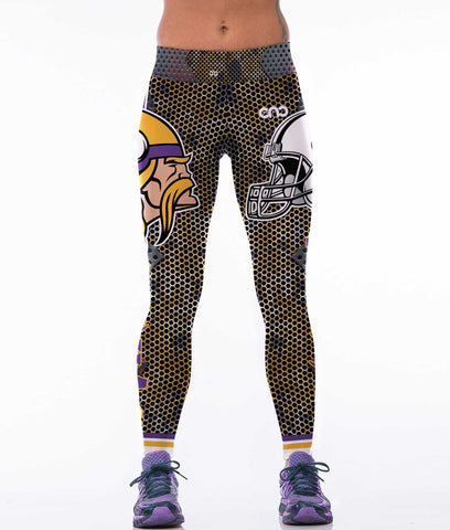 Minnesota Football Sports Leggings for Women