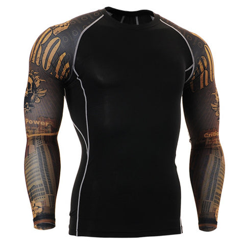 Critical Power Cross Road Life Track Compression Long Sleeve