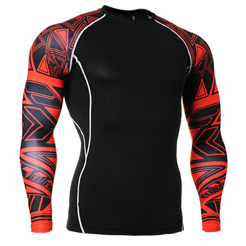 Base Layer Jerseys for Yoga Clothing Cycling Men Long sleeve