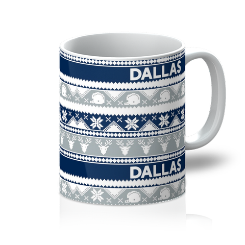 Dallas Ugly Christmas Mug