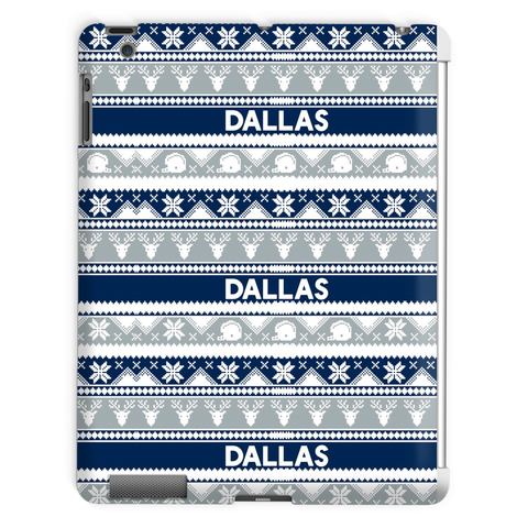 Dallas Ugly Christmas iPad case