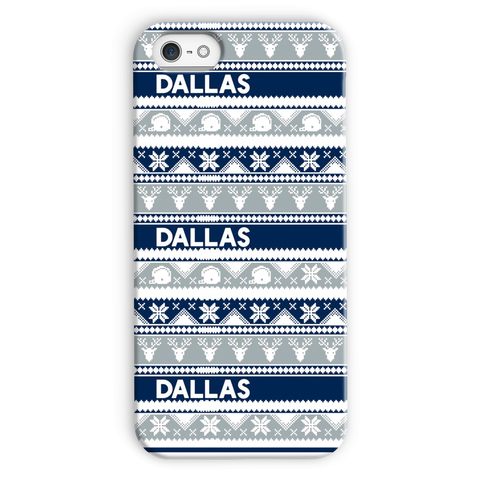 Dallas Ugly Christmas Phone Case
