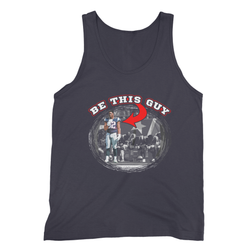 Be this Guy - No to Kneeling Football Tank Top