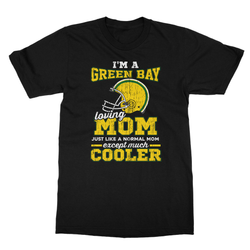 Greenbay Lovin Mom Softstyle Ringspun T-Shirt