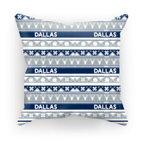 Image of Dallas Ugly Christmas Cushion