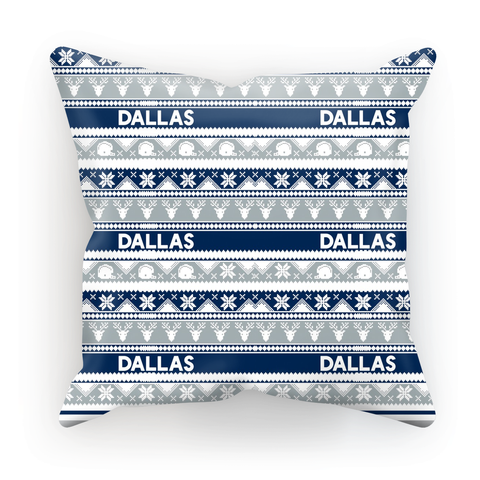 Dallas Ugly Christmas Cushion