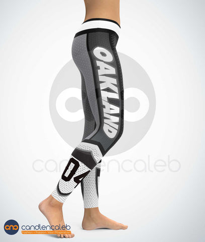 CNC Oakland Style 2 High Quality Football Leggings