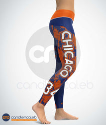 Chicago Football Leggings
