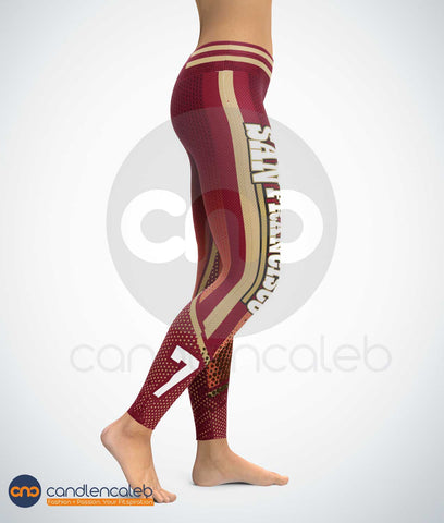 CNC San Francisco High Quality Football Leggings