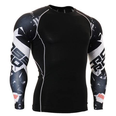 Cross Road Life Track Compression Long Sleeve