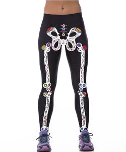 Crazy Bones Leggings for Women