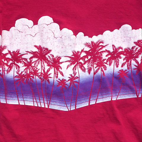 Pink Hawaiin Palm Tee