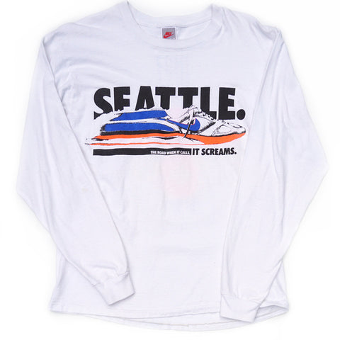 Nike Seattle Long Sleeve Crew