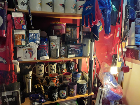 NFL Mugs, Cups & Other Sports Fan Merchandise For Sale