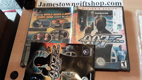 007 Agent Under Fire James Bond Used Nintendo Gamecube Video Game