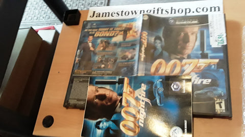 007 Night Fire James Bond Used Nintendo Gamecube Video Game