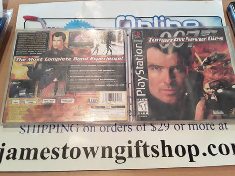 007 Tomorrow Never Dies Used Playstation 1 Video Game