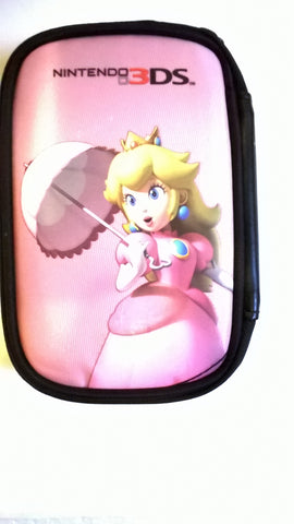 3DS Princess Peach Nintendo Travel Case