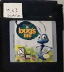 A Bug's Life Used Gameboy Color Video Game Cartridge