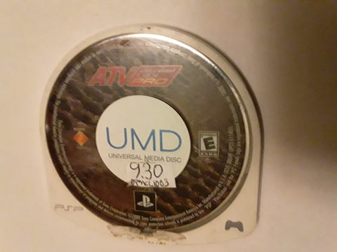 ATV Offroad Fury Pro Racing Used PSP Video Game