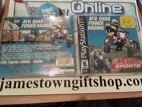 ATV Quad Power Racing Used Playstation 1 Video Game