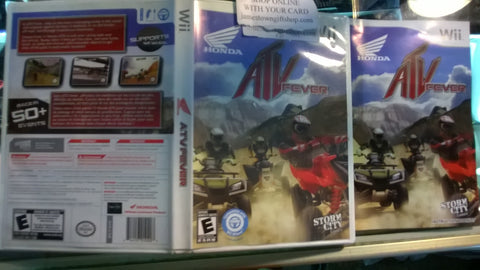 ATV Fever Racing Nintendo Wii USED Video Game