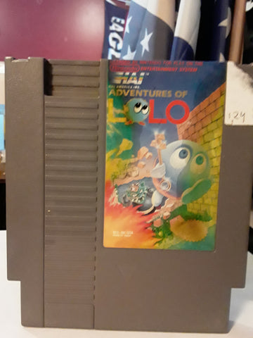 Adventures of Lolo Used NES Original Nintendo Video Game