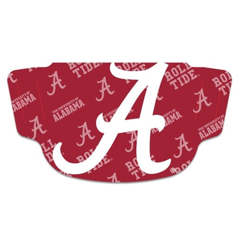 Alabama Crimson Tide NCAA Multi Logo Fan Mask Face Covering