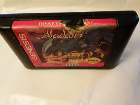 Aladdin Disney Used Sega Genesis Video Game