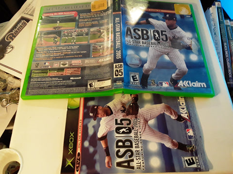 All-Star Baseball 2005 MLB Used Original Xbox Video Game