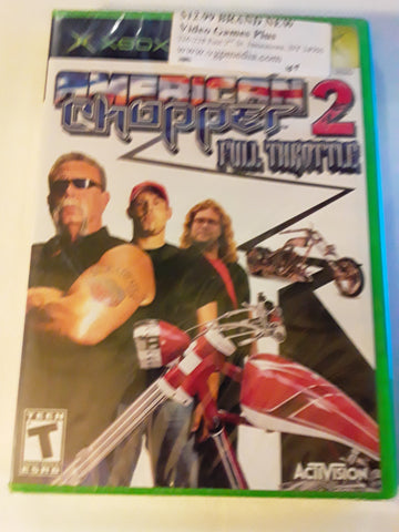 American Chopper 2 BRAND NEW Original Xbox Video Game