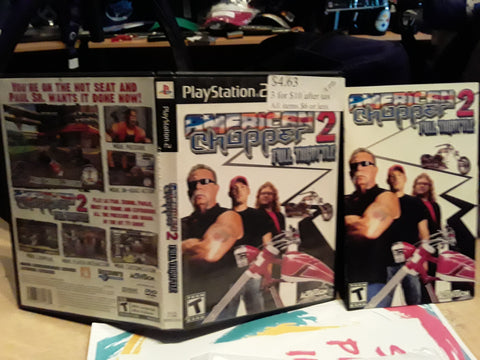 American Chopper 2 Full Throttle USED PS2 Video Game