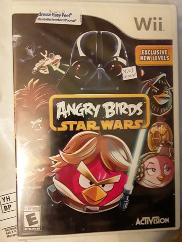 Angry Birds Star Wars BRAND NEW Nintendo Wii Video Game