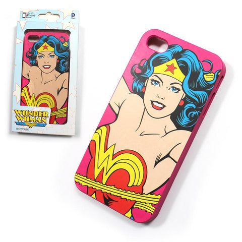 Apple Iphone 4 Licensed Wonder Woman DC Comics Hard Phone Case