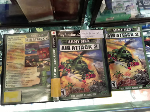 Army Men Air Attack 2 USED PS2 Video Game