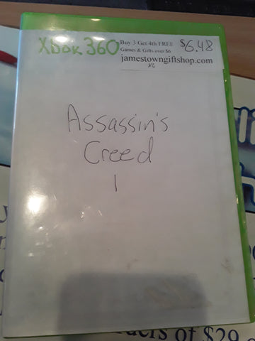 Assassin's Creed 1 Used Xbox 360 Video Game