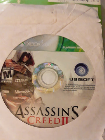 Assassin's Creed II Used Xbox 360 Video Game
