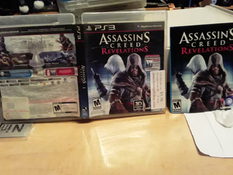 Assassin's Creed Revelations Used PS3 Video Game