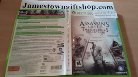 Assassin's Creed The America's Collection Used Xbox 360 Video Game