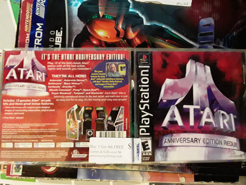 Atari Anniversary Redux Used Playstation 1 Game