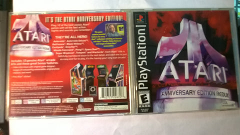 Atari Anniversary Edition Redux USED Playstation 1 Game
