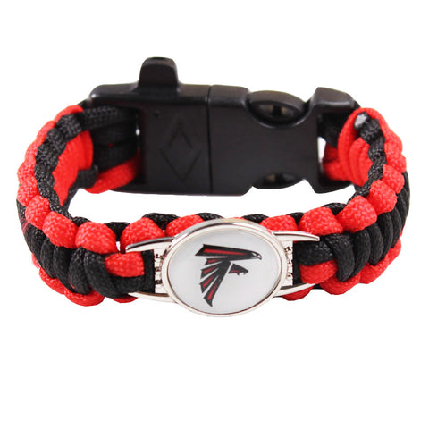 Atlanta Falcons NFL Paracord Bracelet